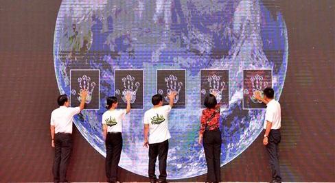 PHÚC KHANG CORPORATION THAM GIA NGÀY HỘI SỐNG XANH 2018