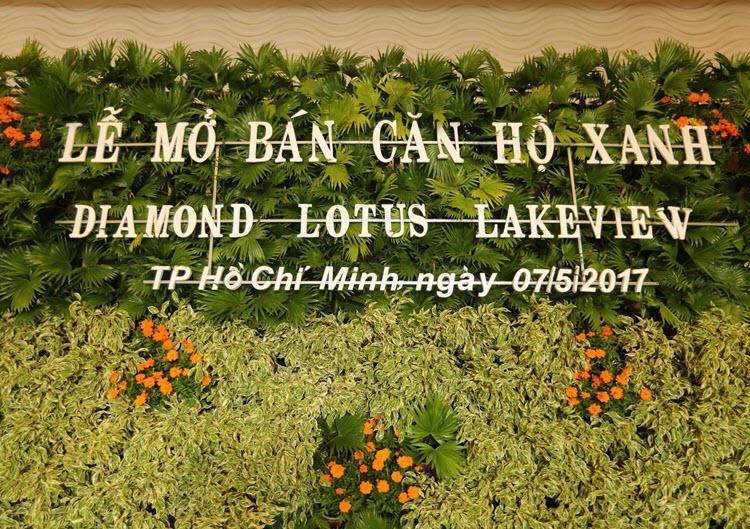 MỞ BÁN THÀNH CÔNG DIAMOND LOTUS LAKE VIEW