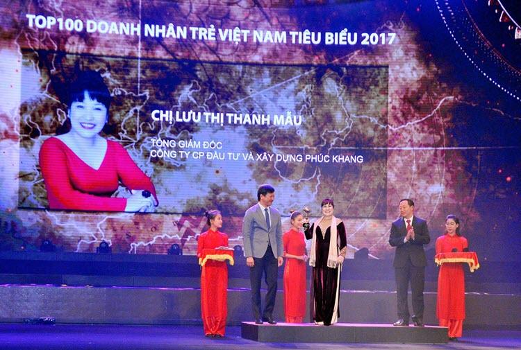 CEO PHUC KHANG CORPORATION- DOANH NHÂN TRẺ VIỆT NAM TIÊU BIỂU 2017